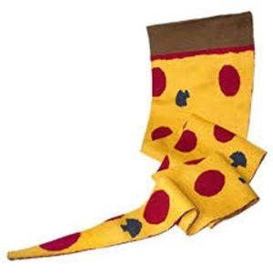 Pizza Slice Scarf  - New